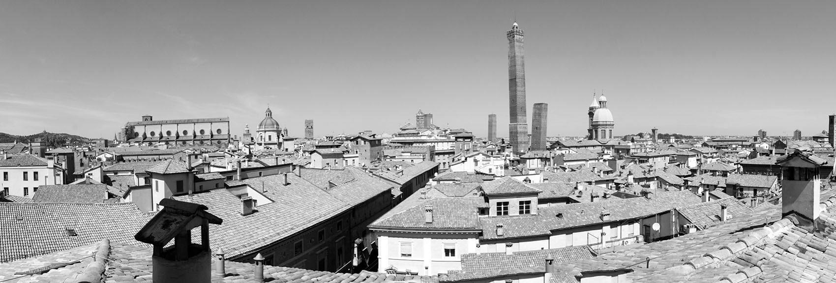 Casa Isolani, residenze d'epoca Santo Stefano Bologna B&B panoramic view from Abbado room